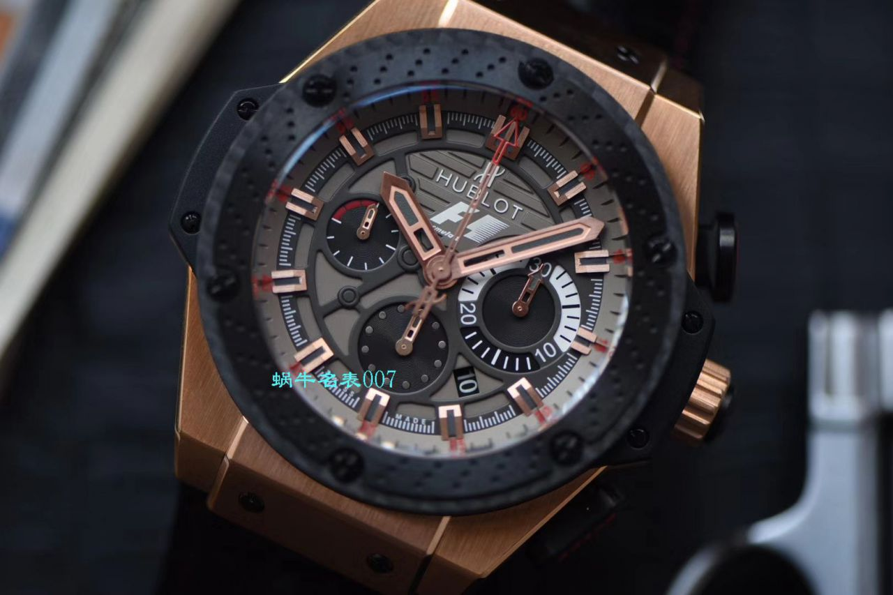 视频评测V6厂宇舶法拉利复刻表Hublot Big Bang 703.OM.6912.HR.FMC12 King Power Great Britain Limited Edition / YB072V6