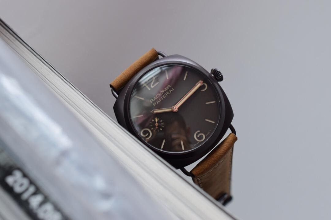 【视频评测SF厂一比一超A高仿手表】沛纳海RADIOMIR系列PAM00504腕表 / SFPAMB00504