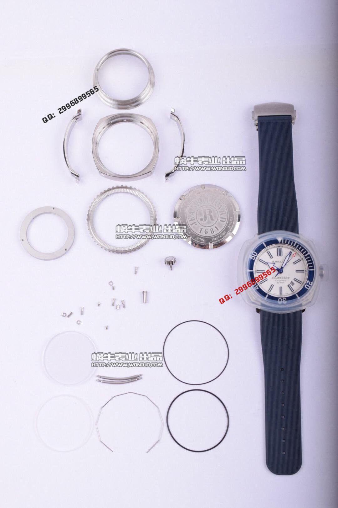 【实拍图鉴赏】超A精仿手表之尚维沙 Aquascope系列 60400-11D401-FK4A腕表 / JC01