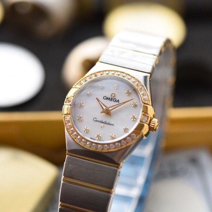 【视频解析】KZ台湾厂1:1复刻手表之欧米茄星座女表顶级版本