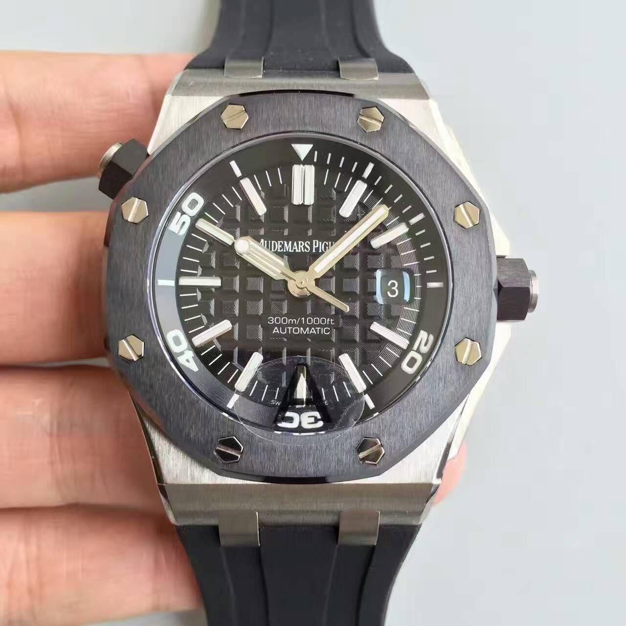 【JF厂1:1精仿手表】AP爱彼 皇家橡树离岸型15703系列腕表价格报价