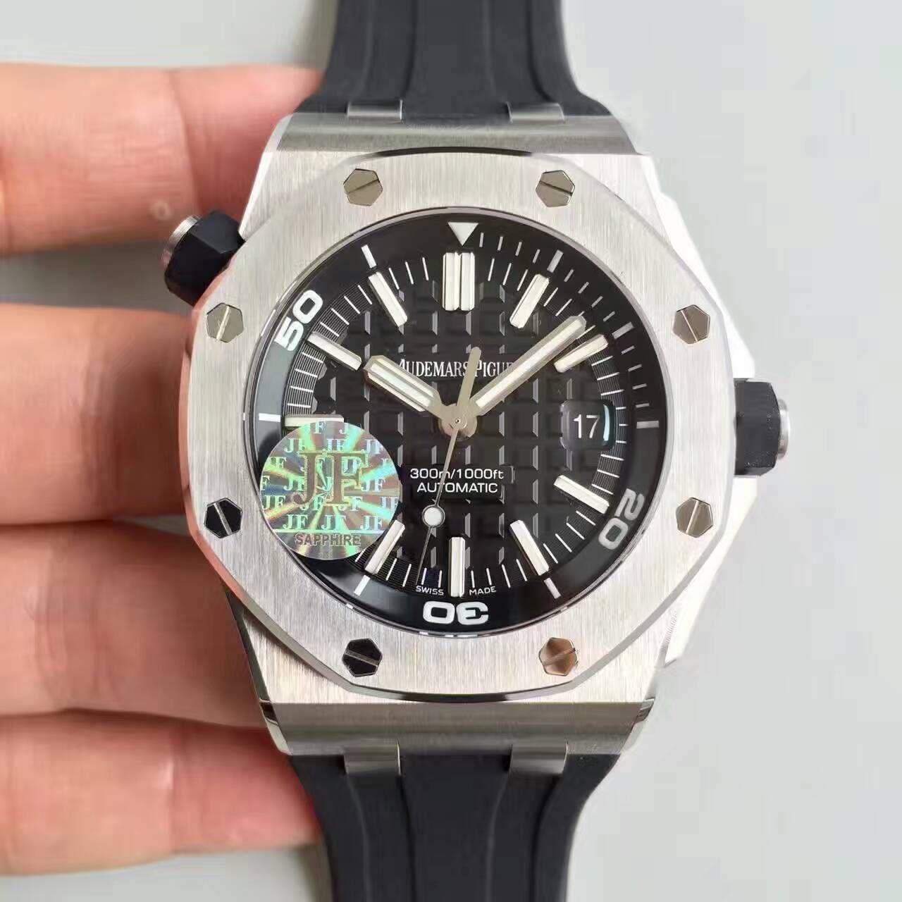 【JF厂一比一精仿手表】AP爱彼皇家橡树离岸型系列15710ST.OO.A002CA.01腕表《钢带款》 / AP031C