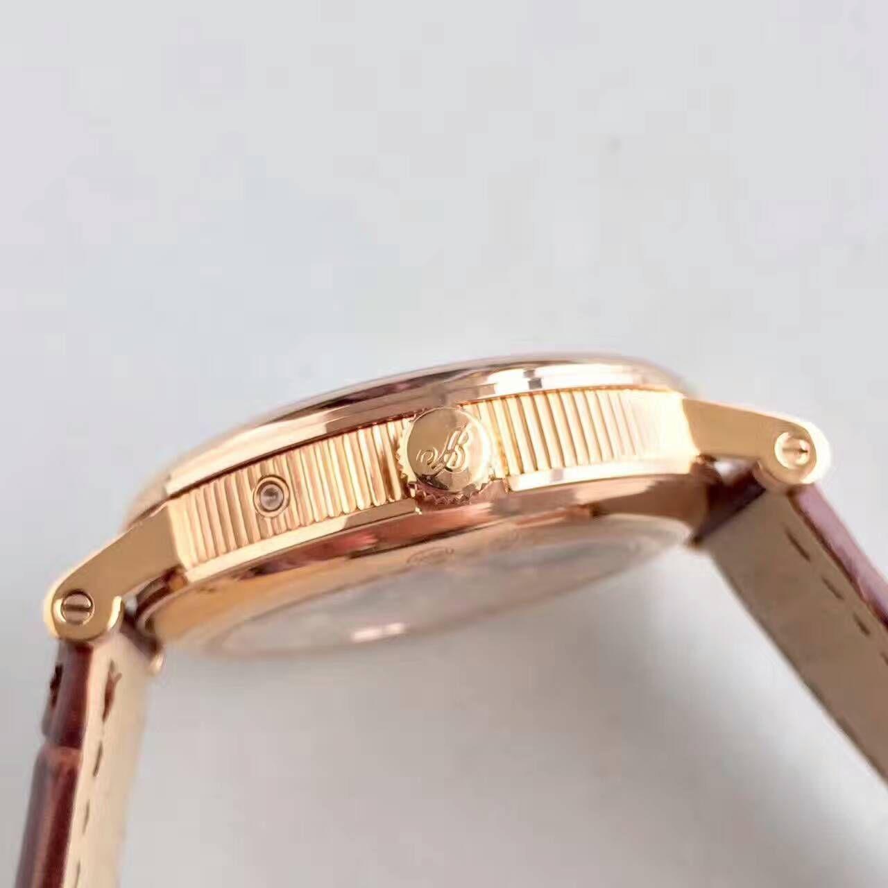 【VF厂一比一高仿手表】宝玑经典系列3137BR/11/986玫瑰金腕表 / BZ029
