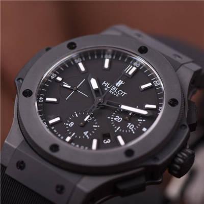 【HBBV6厂一比一顶级复刻手表】宇舶BIG BANG系列ALLBLACK全陶瓷限定版价格报价
