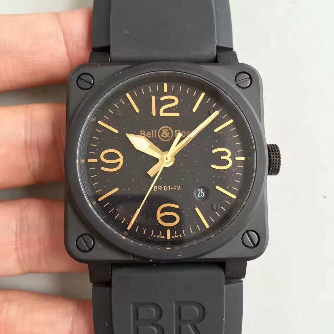 【BR厂超A1:1精仿手表】柏莱士AVIATION系列BR 03-92 HERITAGE腕表 / BL005
