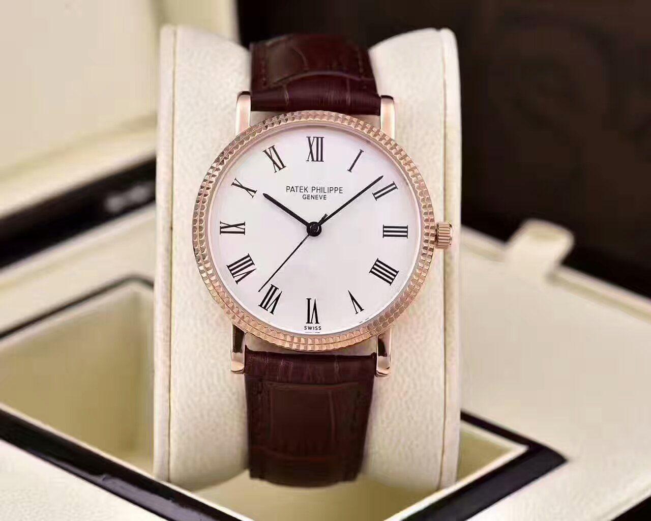 【HK厂一比一精仿手表】百达翡丽古典表系列5120G-001腕表 / BD190