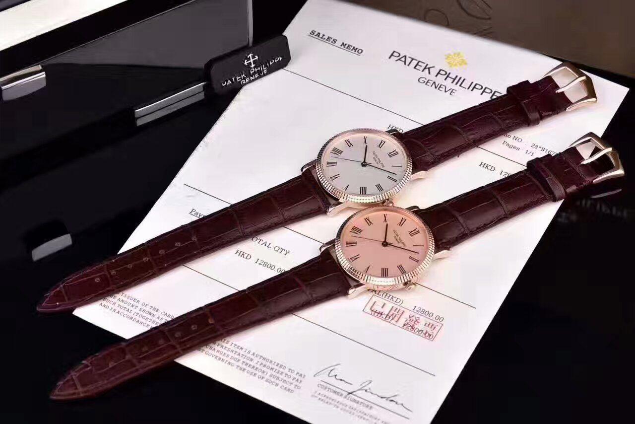 【HK一比一精仿手表】百达翡丽古典表系列5120G-001腕表 / BD190