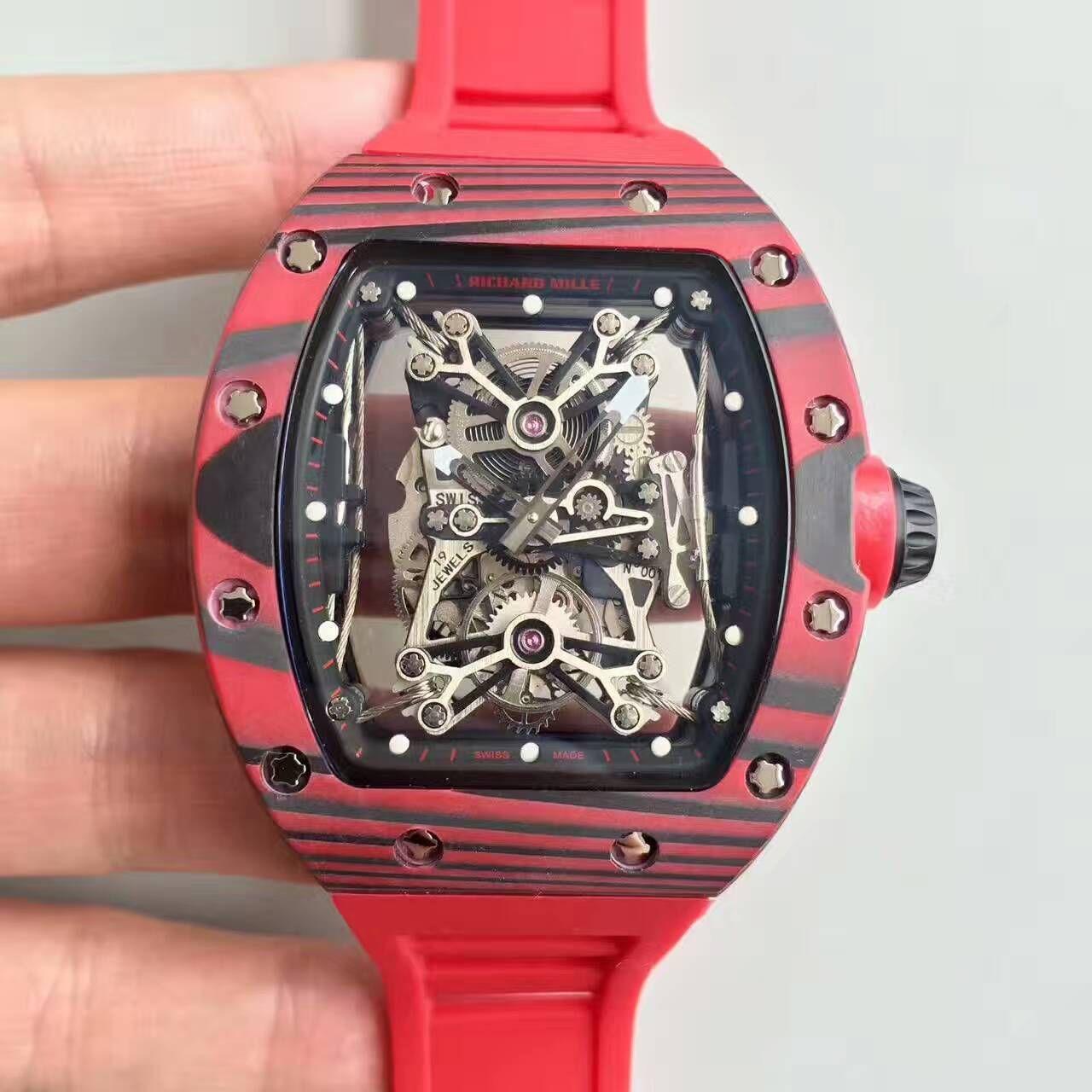 【RM厂一比一精仿手表】里查德米尔男士系列RM 50-27-01 NTPT腕表