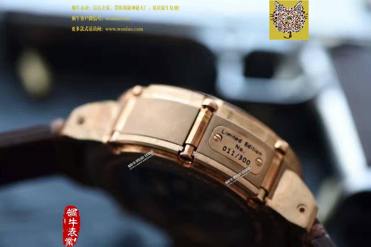 【视频解析】UB厂1:1复刻手表U-BOAT青铜腕表 / UB005