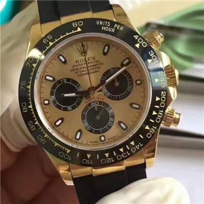 【台湾厂一比一超A高仿手表】劳力士宇宙计型迪通拿系列116518LN腕表价格报价