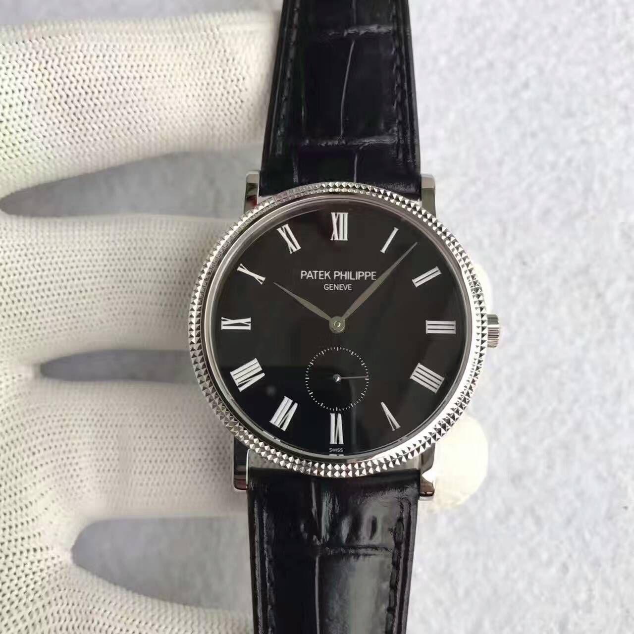 【台湾厂一比一超A精仿手表】百达翡丽古典表系列5119G-001腕表 / BD206