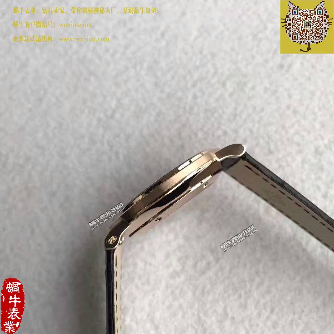 【台湾厂一比一超A高仿手表】百达翡丽古典表系列5119R-001腕表 / BD207