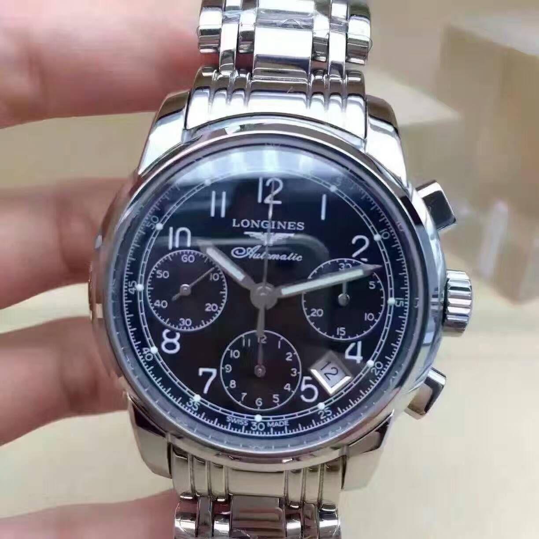 【台湾厂TW厂一比一超A复刻手表】浪琴SAINT-IMIER索伊米亚 系列L2.753.4.53.6腕表