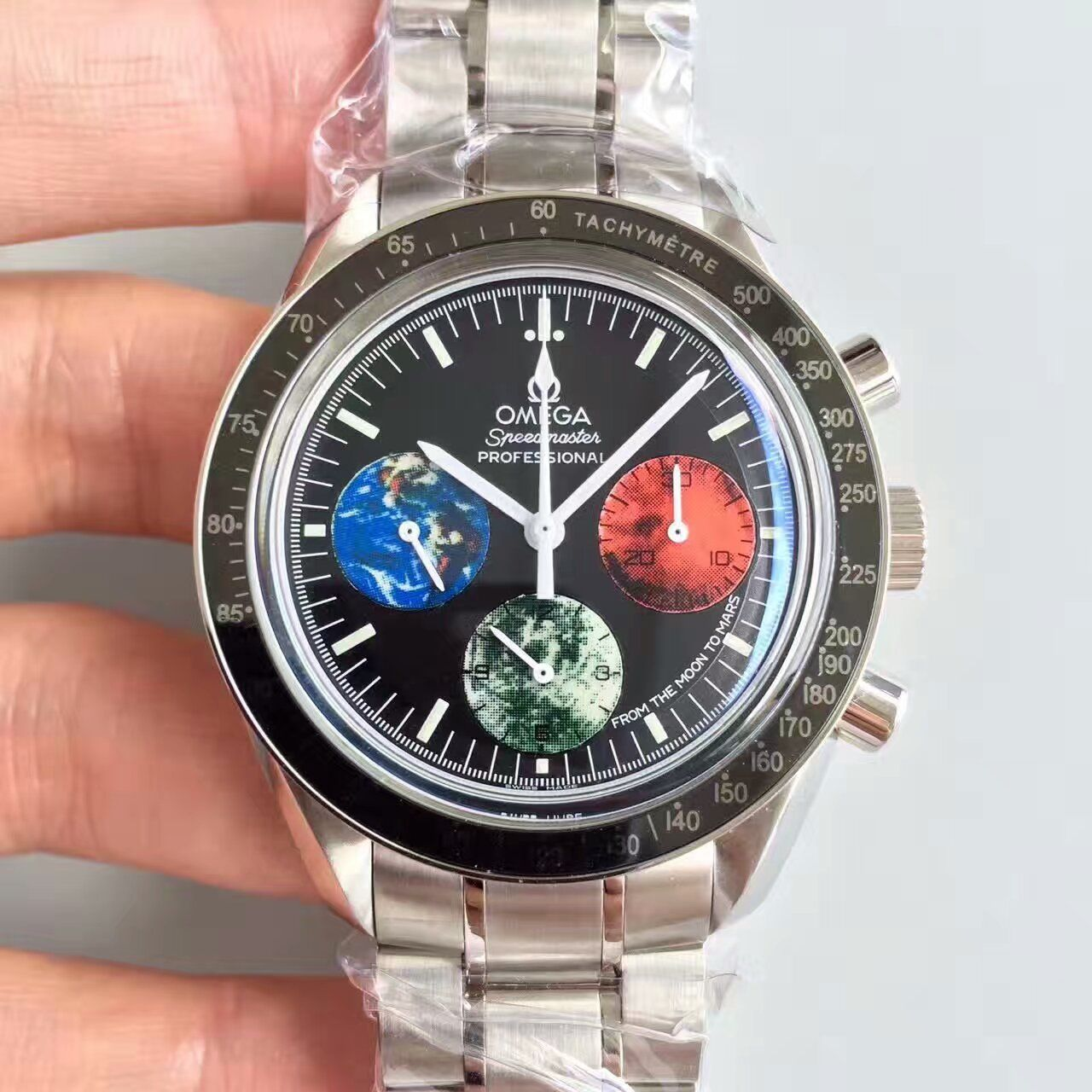 【JH厂一比一超A高仿手表】欧米茄超霸系列3577.50.00腕表价格报价