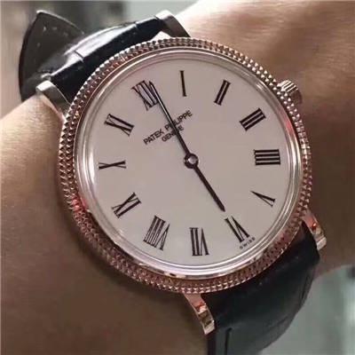 【台湾厂一比一超A高仿手表】百达翡丽5120Calatrava古典表系列腕表