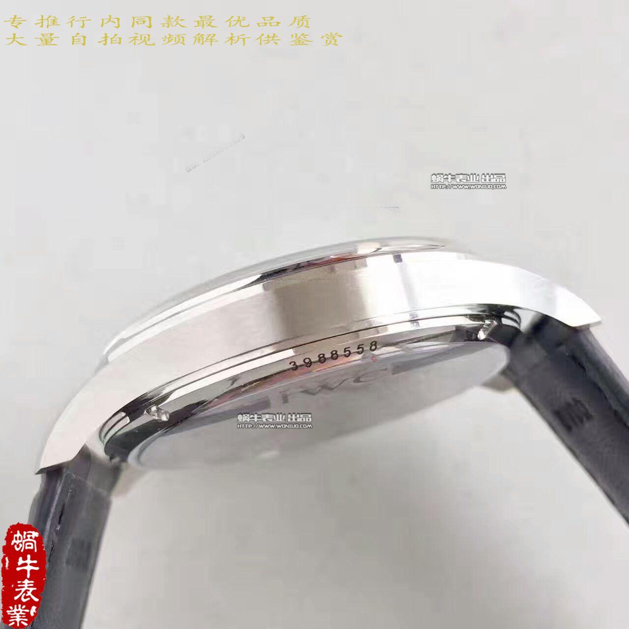 【YL厂一比一超A高仿手表】万国葡萄牙三针一线系列琼斯之剑IW544401腕表 / WG306
