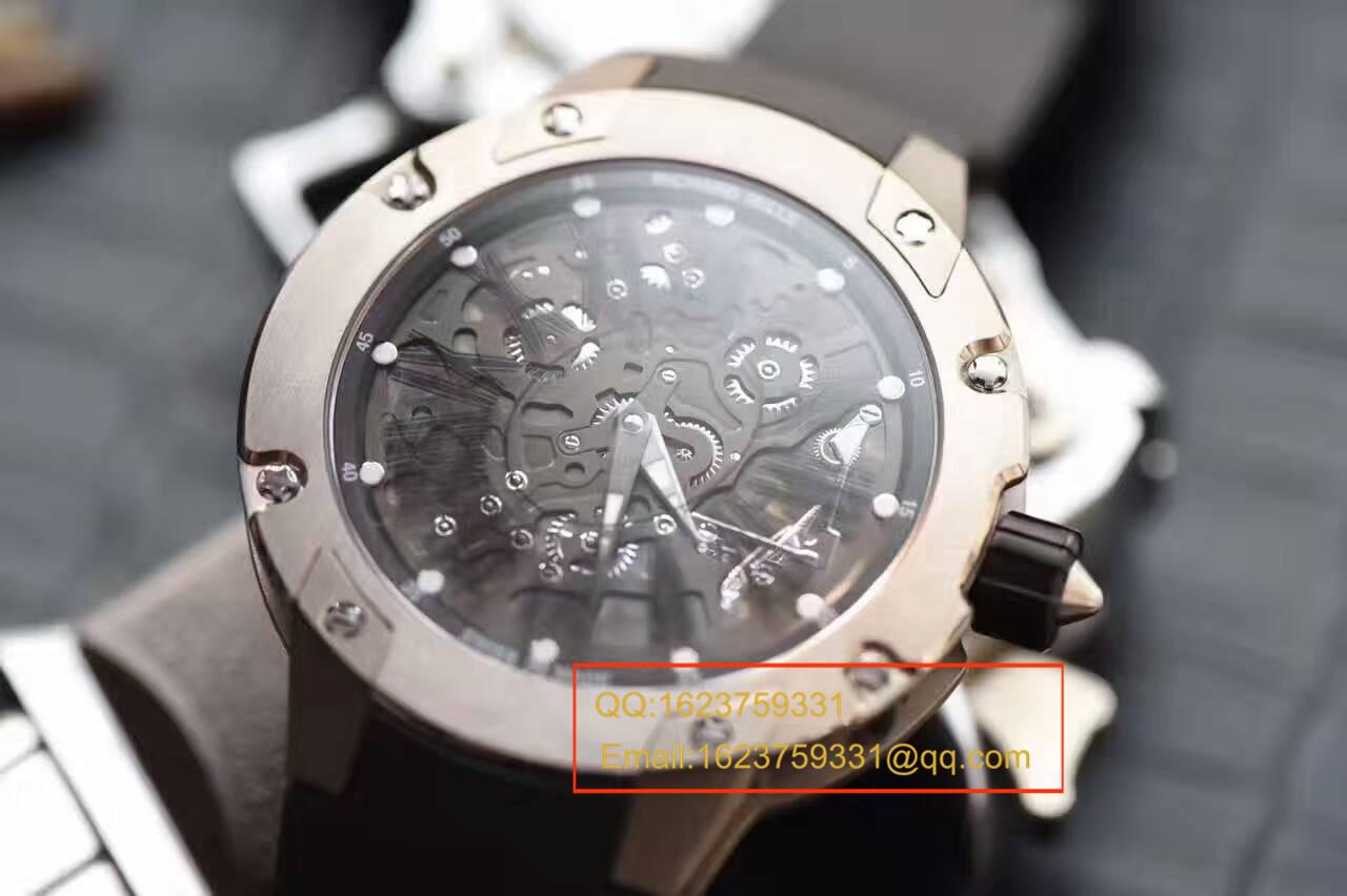【独家视频评测SF顶级厂1:1复刻手表】理查德米勒男士系列RM 033 Ti腕表 / RMBC-033 Ti
