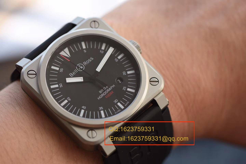 【BR一比一超A精仿手表】柏莱士AVIATION系列BR 03-92 HOROLUM 腕表 / BABL016