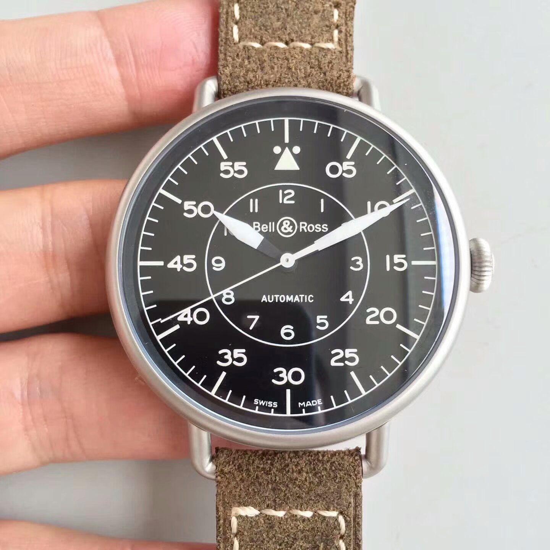 【BR一比一超A复刻手表】柏莱士VINTAGE 系列WW1-92 MILITARY腕表 / BLBA017