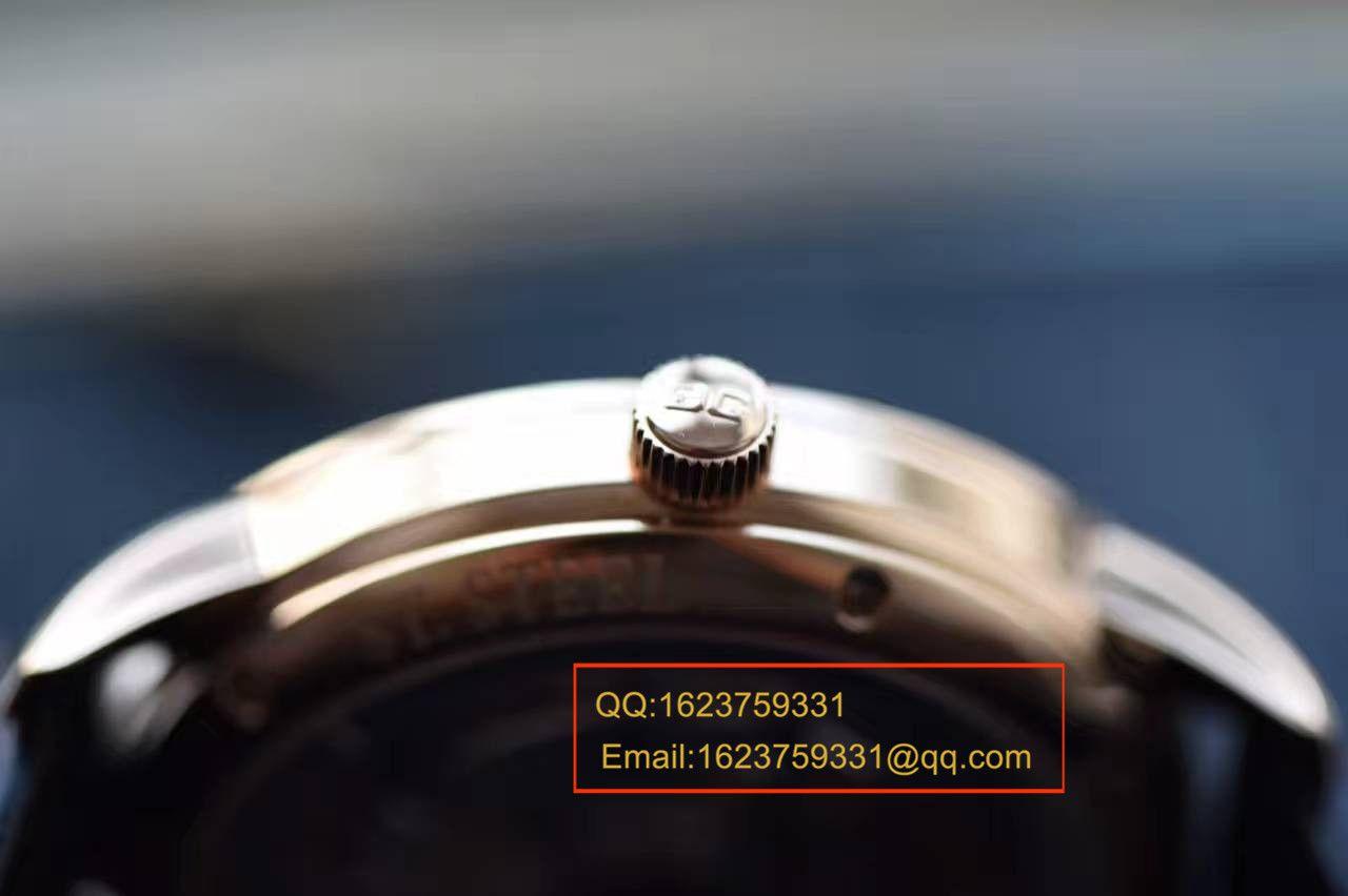 【独家视频解析】FK厂一比一精仿手表格拉苏蒂原创精髓系列1-39-59-01-05-04腕表 / GLAB037