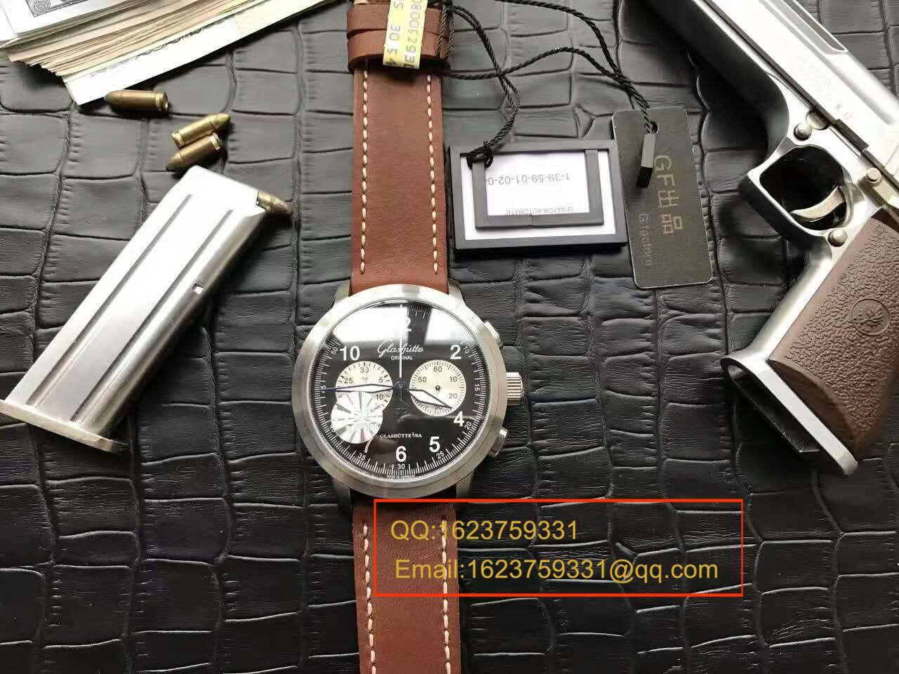 【独家视频测评】GF厂1:1超A高仿手表格拉苏蒂原创SENATOR NAVIGATOR系列39-34-07-07-04男表 / GLABA034