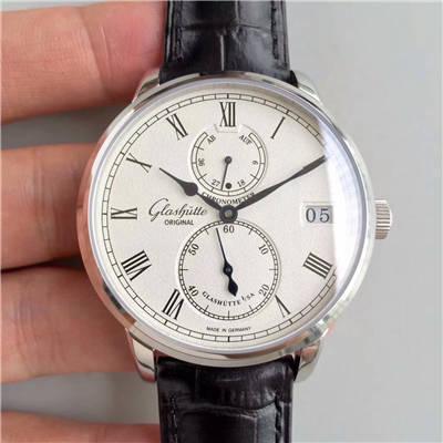 【GF厂1:1超A高仿手表】格拉苏蒂原创精髓议员天文台腕表系列 1-58-04-04-04-04腕表