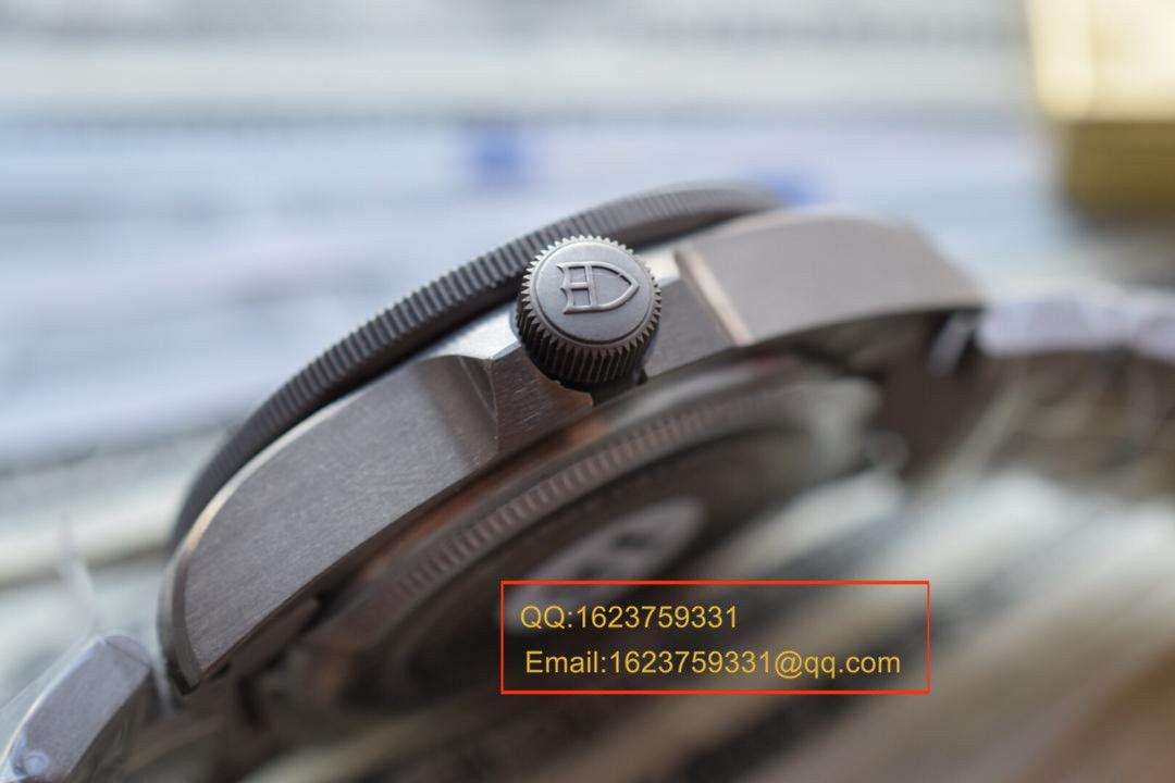 【独家视频测评XF厂一比一超A精仿手表】帝舵PELAGOS系列战斧25500TN 黑钛土豆黑色战斧 / DT007A