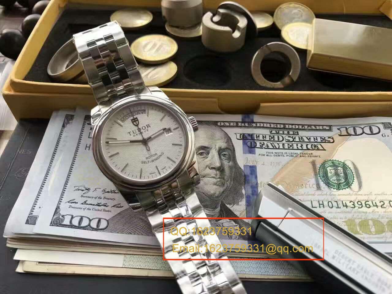 【实拍图鉴赏】台湾超A高仿手表帝舵骏珏系列56000-68060男士机械手表 / DT008