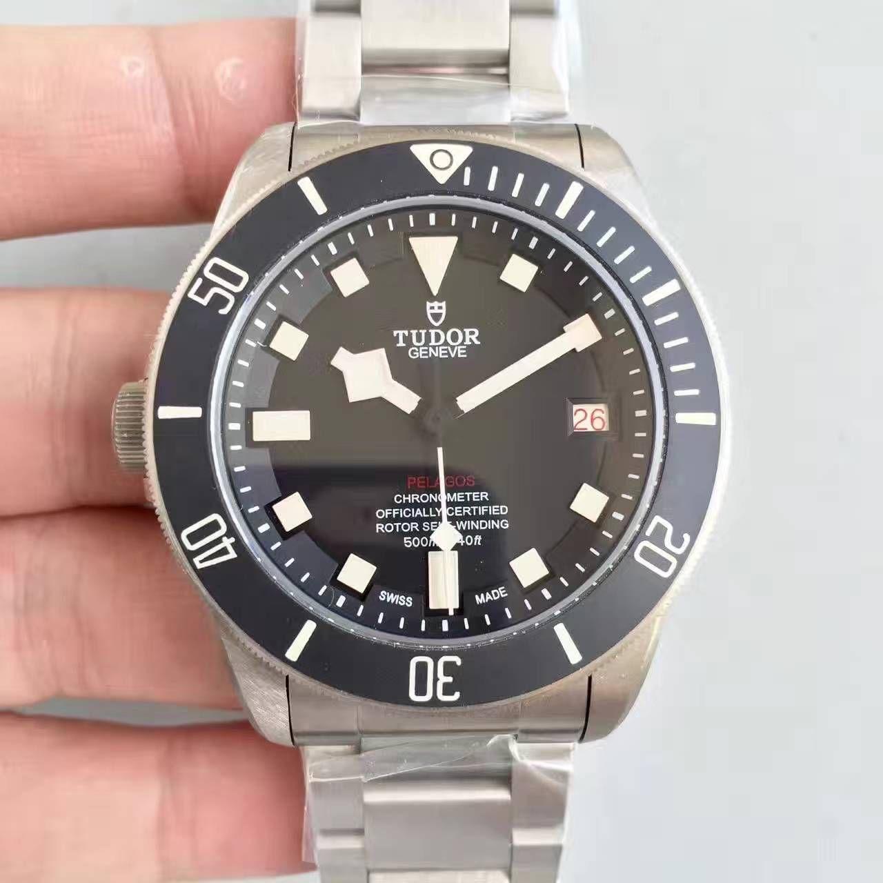 【ZF厂一比一复刻手表】帝舵反手左撇子25610TNL全新领潜型LHD左撇子腕表 / DT027