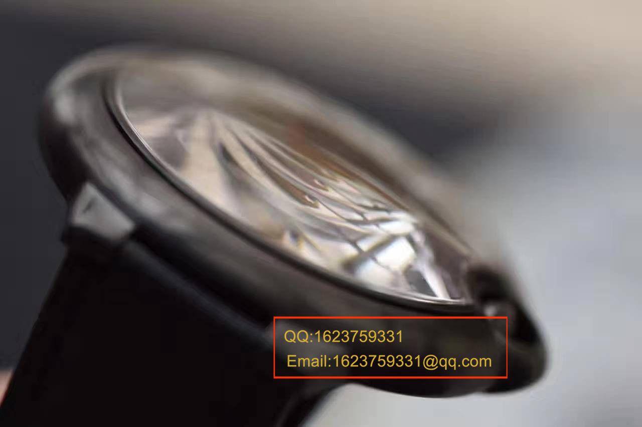 【独家视频测评V6厂1:1高仿手表】卡地亚蓝气球系列黑武士WSBB0015男表42毫米V2版本 / KAH096