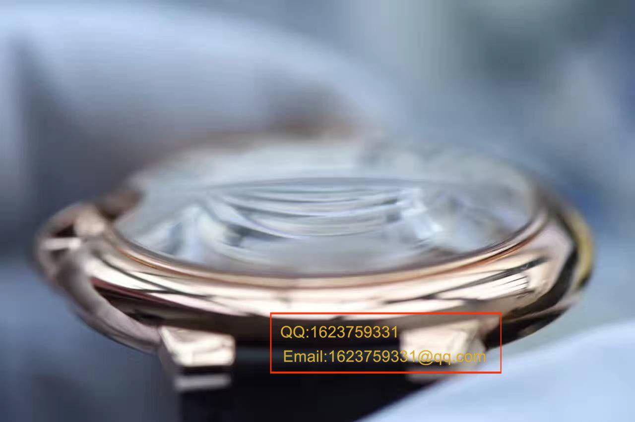 【独家视频测评V6厂一比一超A高仿手表】卡地亚大号蓝气球42毫米W6900651玫瑰金腕表 / K043