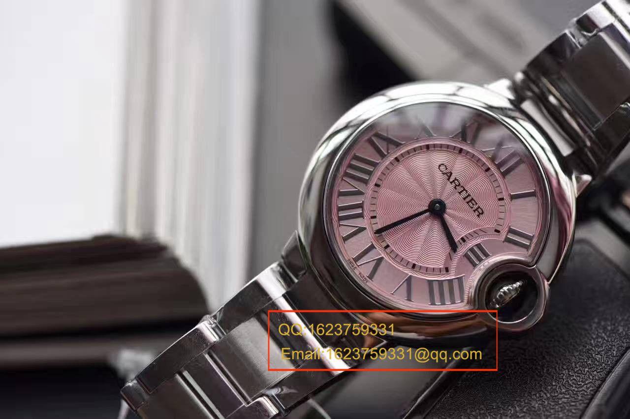 【HBBV6厂一比一超A高仿手表】卡地亚蓝气球系列W6920038女士28毫米/33毫米石英腕表 / K121