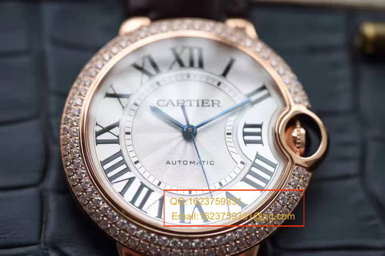 【HBBV6厂一比一精仿手表】卡地亚蓝气球系列WE900551女士腕表 / KAH113