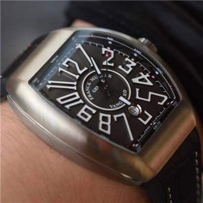 【视频评测TF一比一超A高仿手表】法兰克穆勒VANGUARD系列V 45 S S6腕表价格报价