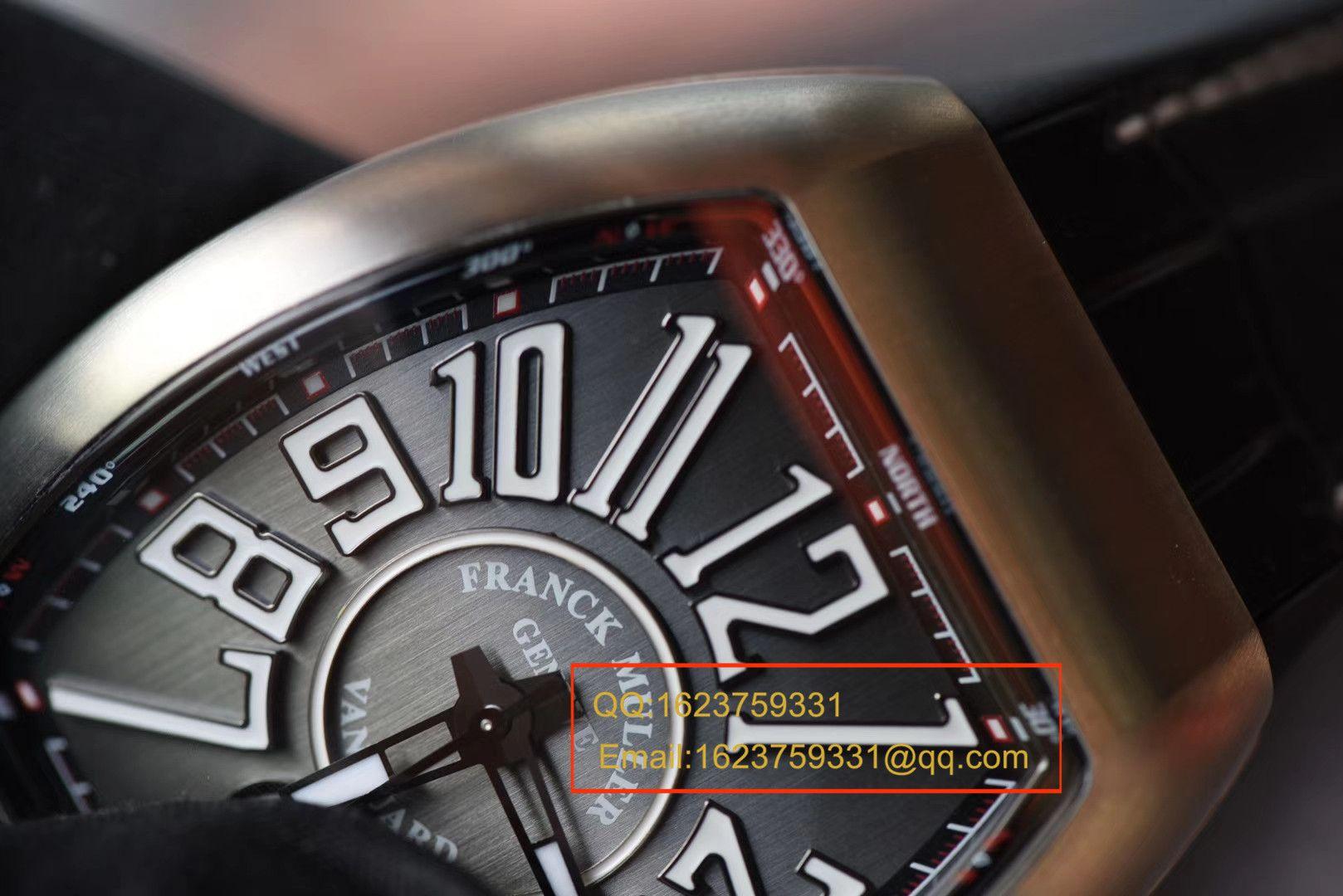 【视频评测TF厂一比一超A高仿手表】法兰克穆勒VANGUARD系列V 45 S S6腕表 / FLBH017