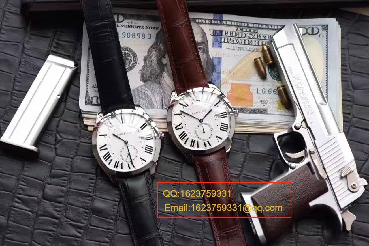 【独家视频测评SY厂一比一超A高仿手表】卡地亚DRIVE DE CARTIER 系列WGNM0003枕形腕表 / Kbc101