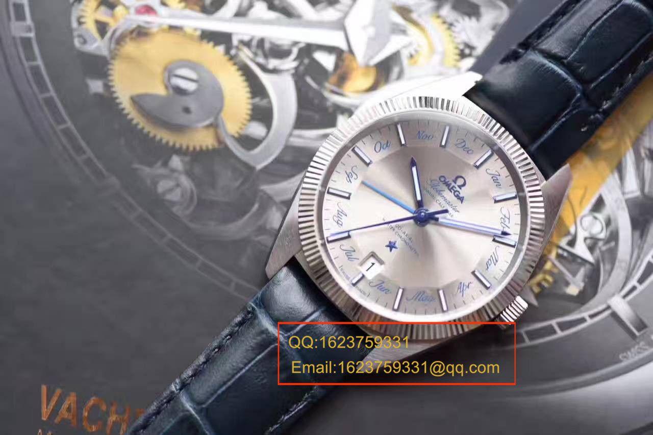 【独家视频测评OF一比一超A高仿手表】欧米茄星座系列130.33.41.22.06.001尊霸年历腕表 / M291
