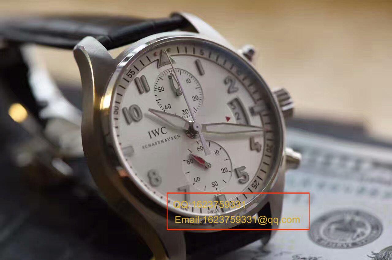 """【独家视频测评】HBBV6厂1:1超A高仿万国飞行员计时腕表 """"JU-AIR""""特别版系列IW387809腕表 / IW387809"""