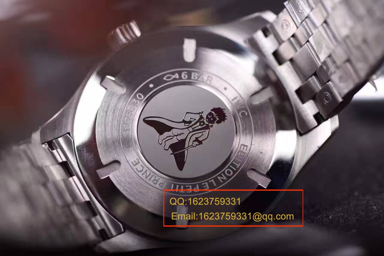 """【独家视频测评一比一超A高仿手表】万国马克十八飞行员腕表""""小王子""""特别版系列IW327014腕表 / WBB243B"""