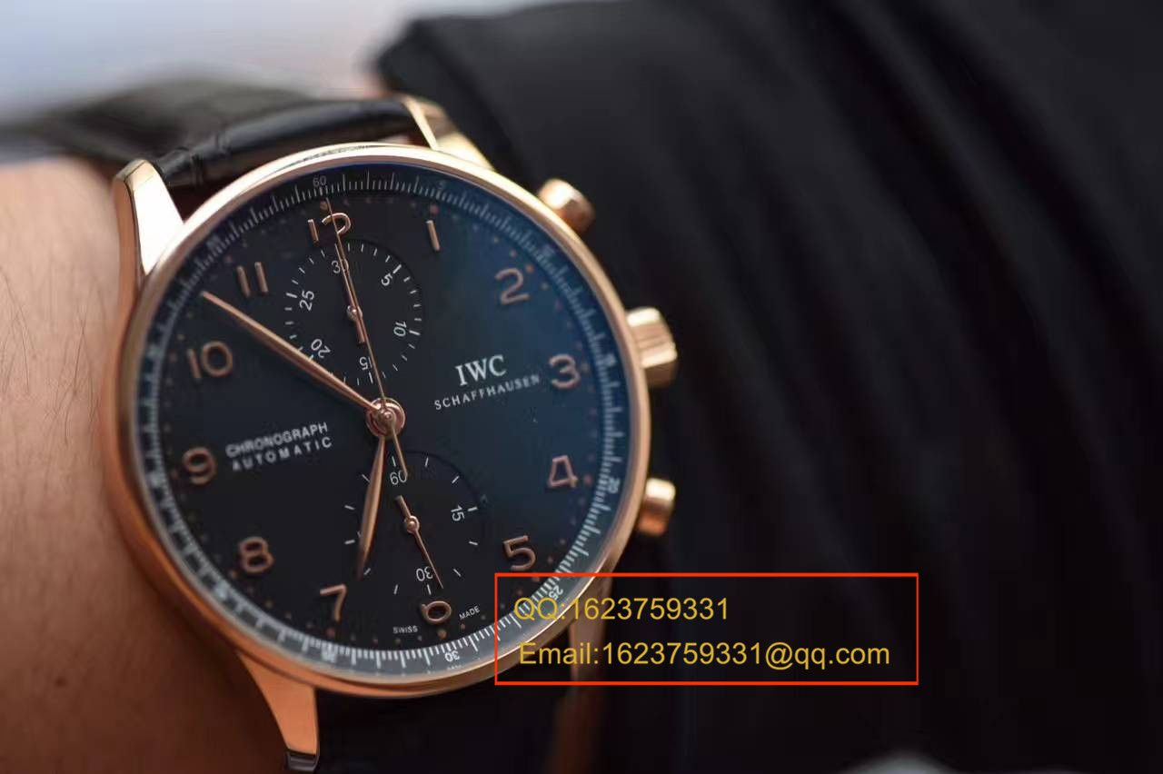 【YL厂V7版本一比一超A高仿手表】万国IWC葡萄牙计时系列IW371415腕表 / WG303