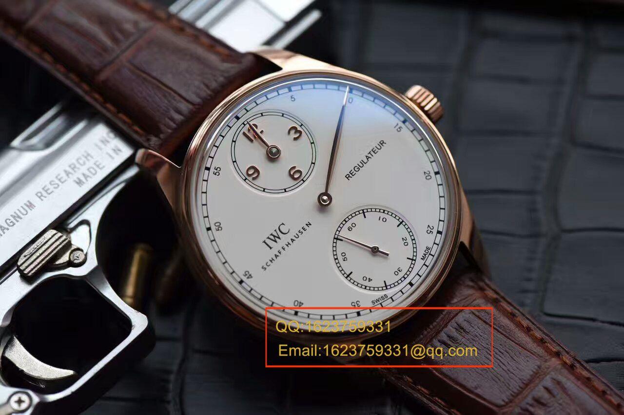 【YL厂顶级复刻高仿手表】万国葡萄牙系列IW544402腕表 / WG277
