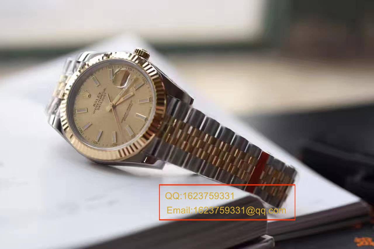 【N厂一比一高仿复刻手表】劳力士日志型系列126333-62613包18K金腕表 / RCF171