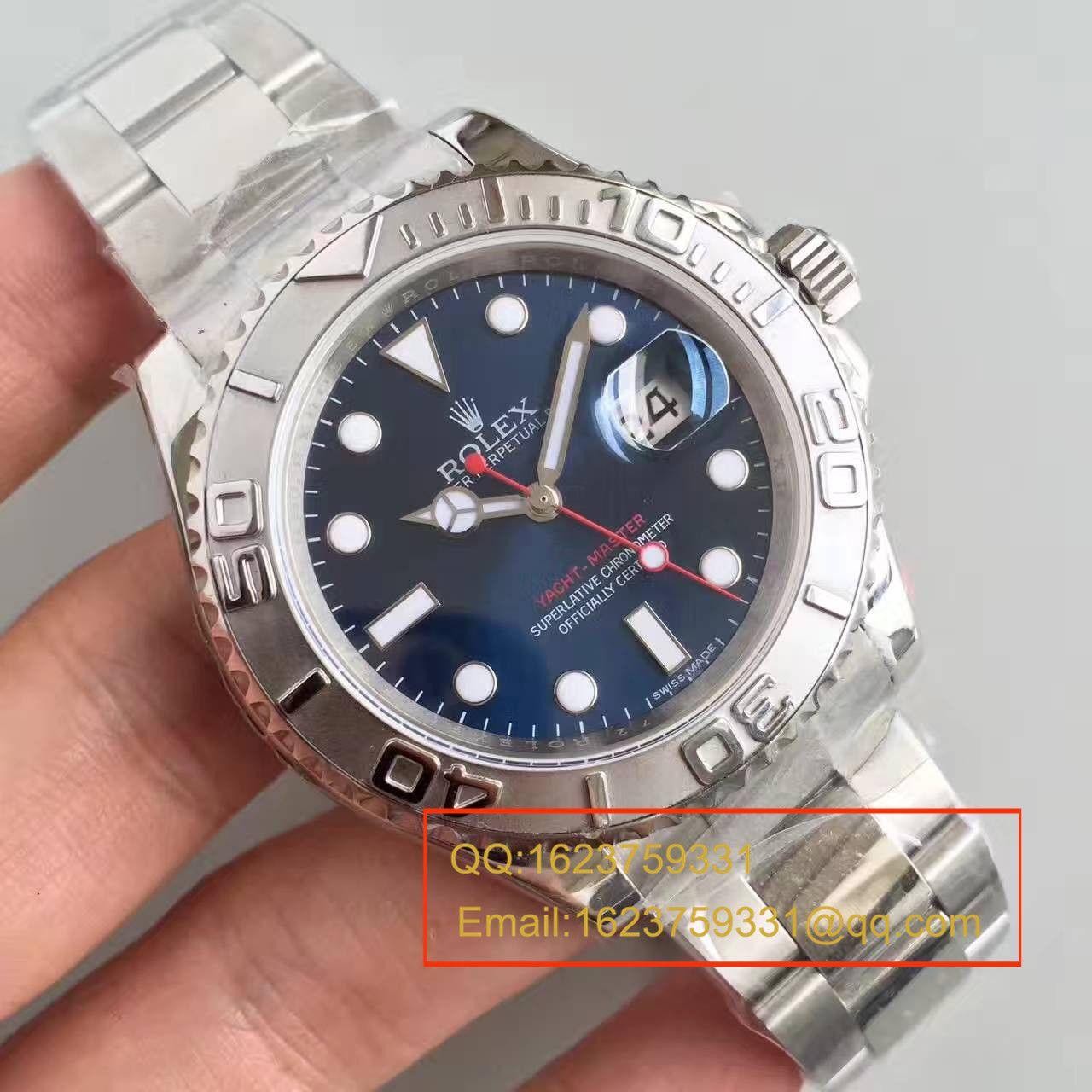 【N厂一比一复刻手表】劳力士游艇名仕型系列116622-78760 蓝盘机械手表 / RBA021