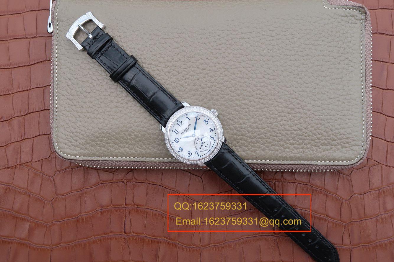 【KG1:1超A精仿手表】百达翡丽复杂功能计时系列4968G-010女士腕表 / BD211