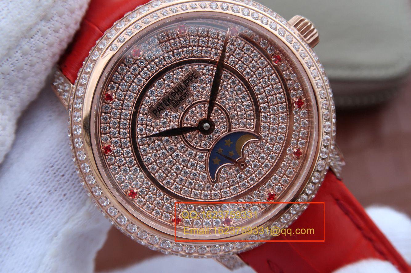 【KG1:1超A复刻手表】百达翡丽复杂功能计时系列4968/400R-001女士腕表 / BD134