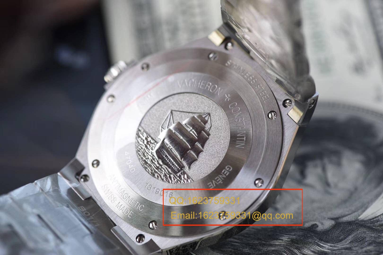 【独家视频评测JJ厂一比一超A高仿手表】江诗丹顿纵横四海系列47040/B01A-9093腕表 / JSBI115
