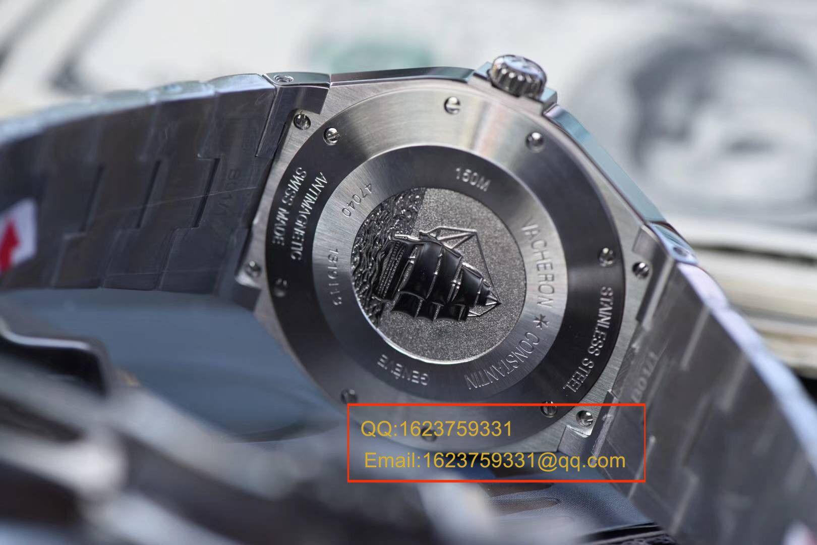 【独家视频评测JJ一比一超A精仿手表】江诗丹顿纵横四海系列47040/B01A-9094腕表 / JSBI117