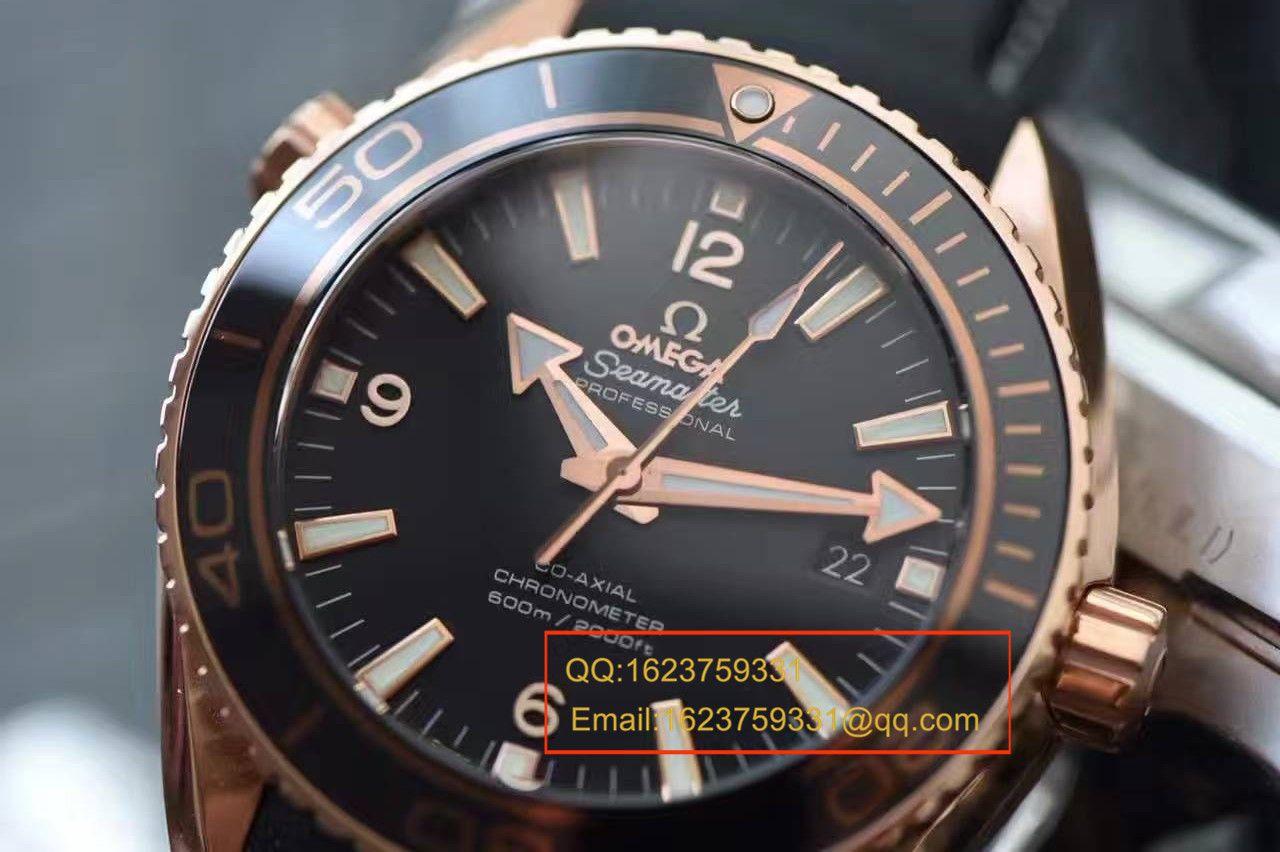 【独家视频测评KW一比一超A高仿手表】欧米茄海马海洋宇宙600米腕表系列 232.63.46.21.01.001男表 / MAH213