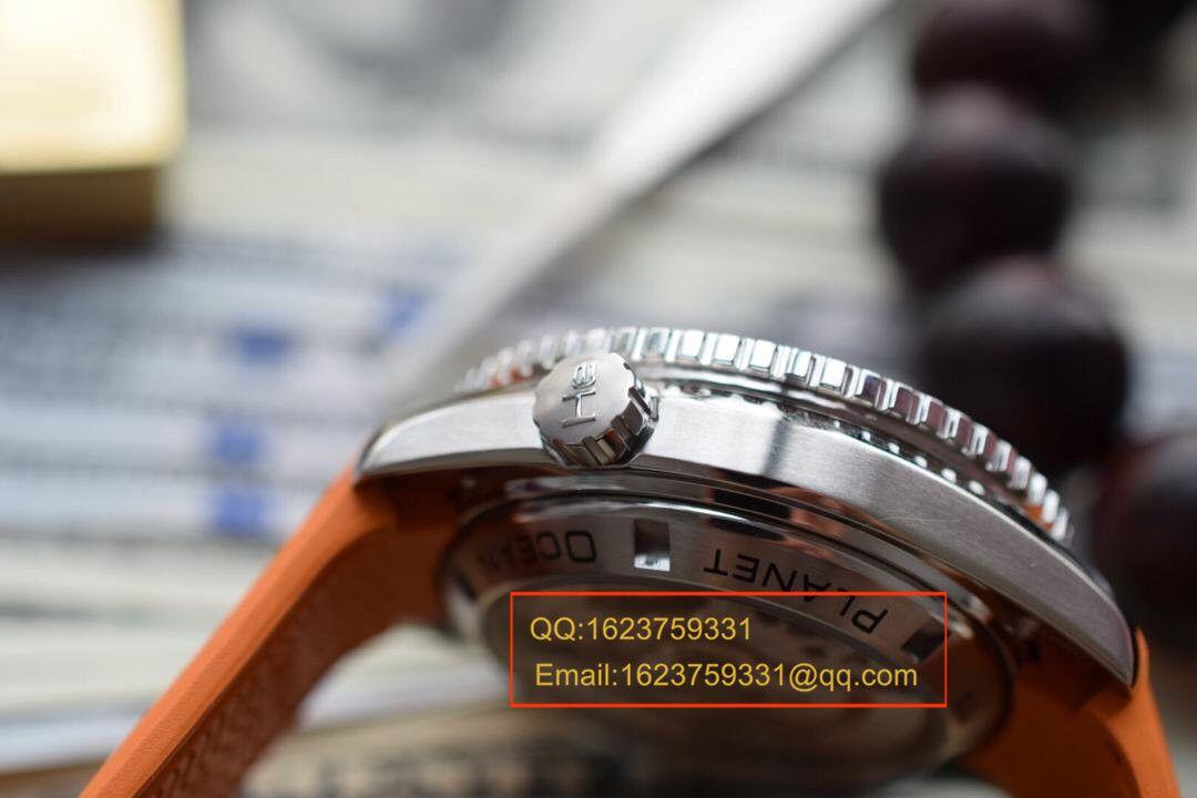 【独家视频评测KW厂1:1精仿手表】欧米茄海马系列宇宙海洋232.32.46.51.01.001男士机械腕表 / M122