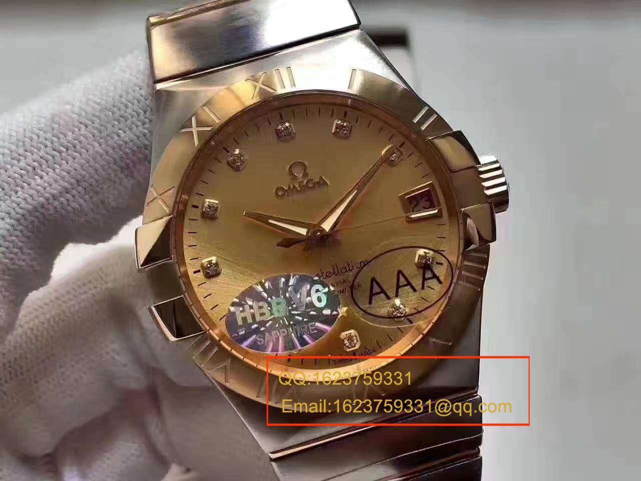 【HBBV6厂一比一超A精仿手表】欧米茄星座系列123.20.38.21.58.001腕表 / M307